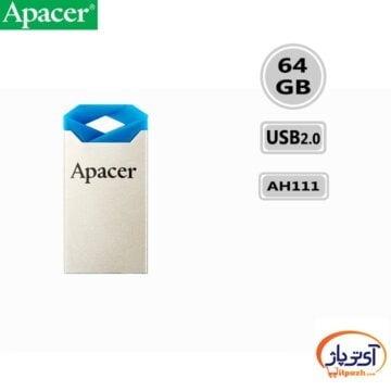 فلش مموری USB2.0 اپیسر 64 گیگابایت مدل Apacer AH111