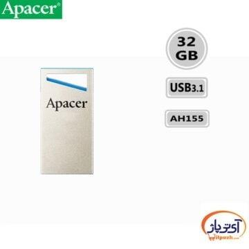 فلش مموری USB3.1 اپیسر 32 گیگابایت مدل Apacer AH155