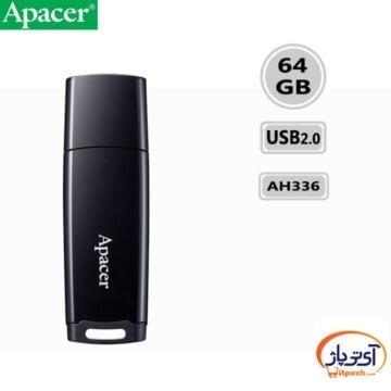 فلش مموری USB2.0 اپیسر 64 گیگابایت مدل Apacer AH336